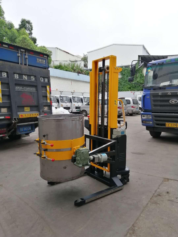 防爆蓄电池多功能油桶搬运车