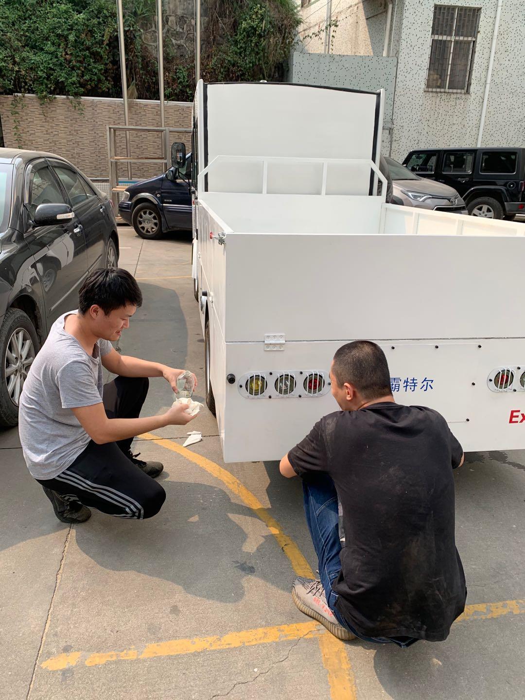 防爆蓄电池观光车 1 台, 防爆蓄电池搬运车 1 台