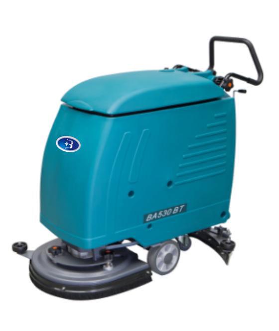 全自动洗地吸干机