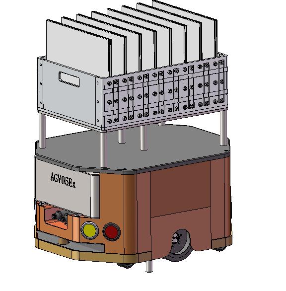 AGV05EX型-防爆智能控制平板运输车
