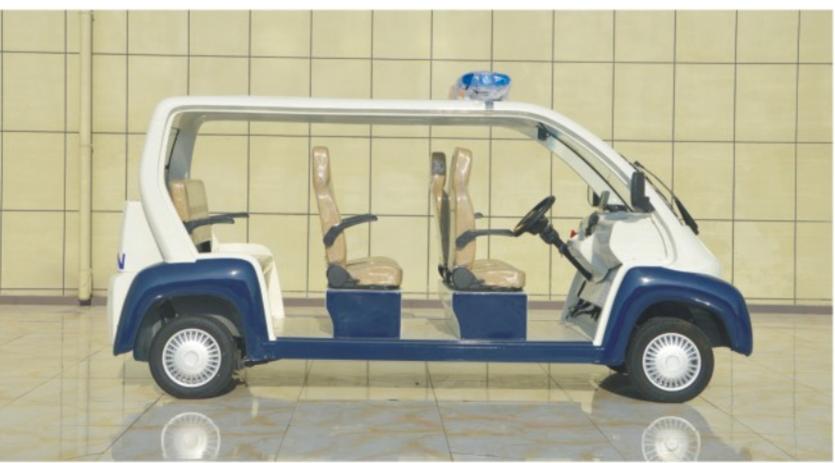 6-8座防爆电动巡逻车(玻璃钢)