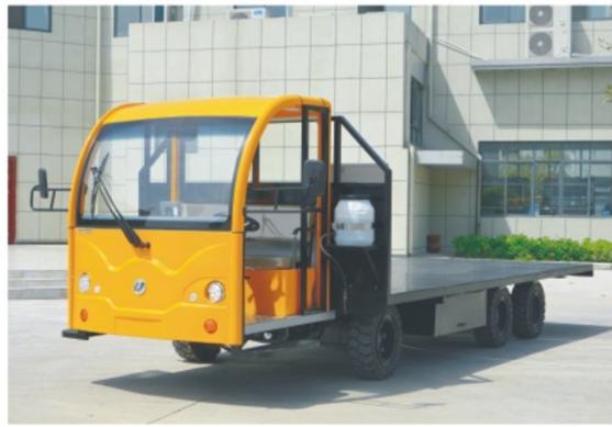 10电动平板货车