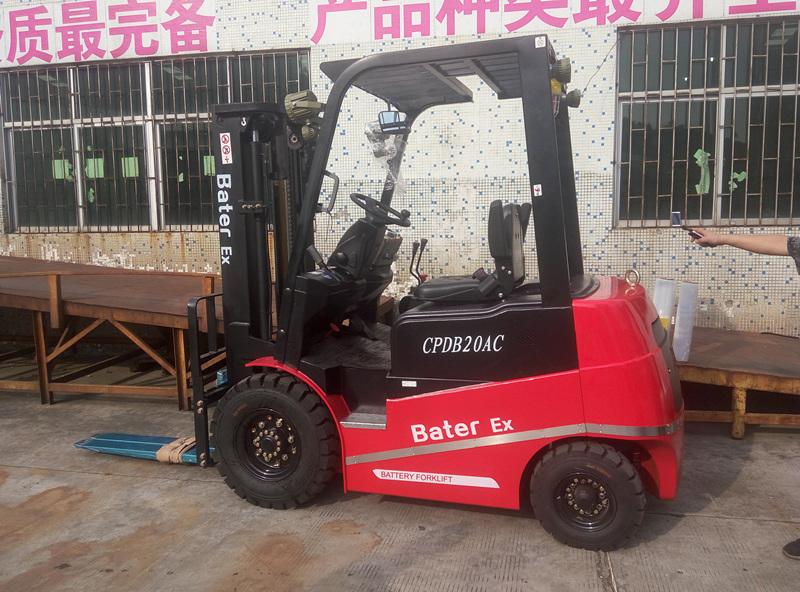 福建某漆业公司--2.5吨防爆电动叉车