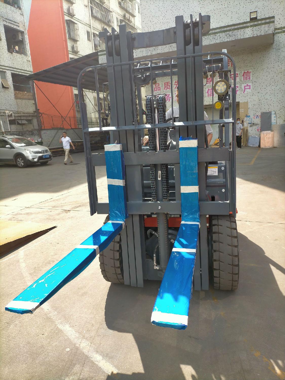 涂料用的防爆蓄电池平衡重式叉车