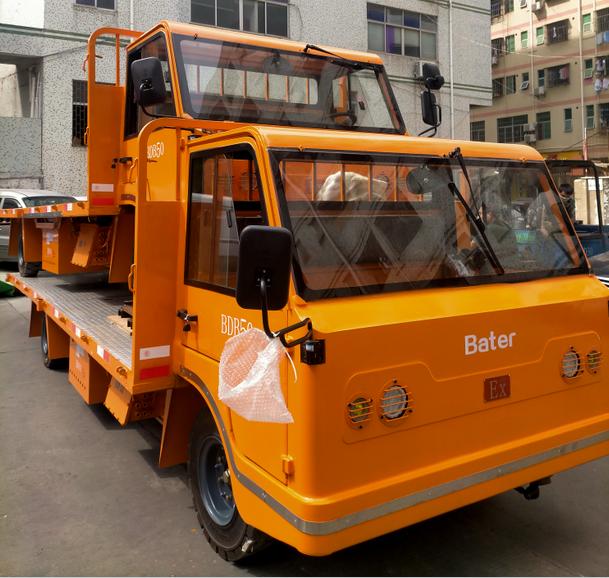 西安客户订购5吨防爆搬运车