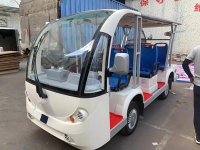 深圳客户订购的防爆观光车
